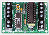 12bit ADC microcontroller interface card