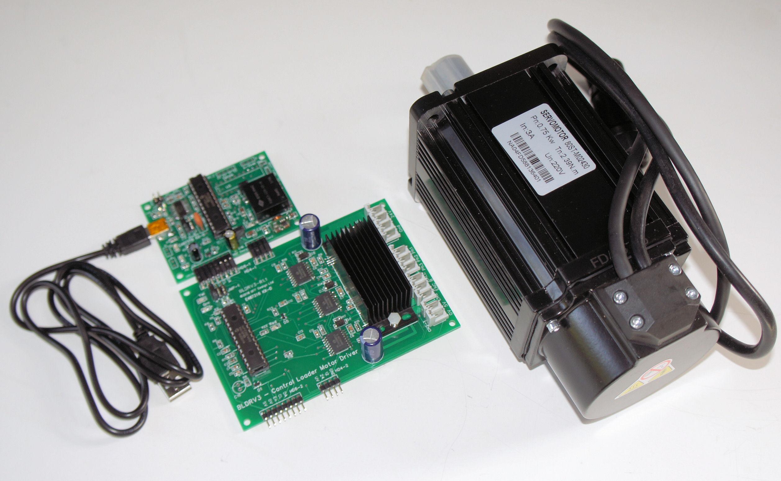 BFF Modular Control Loader Sriver System