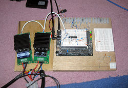 DIY Control Loading System 64 MHz signal processor unit