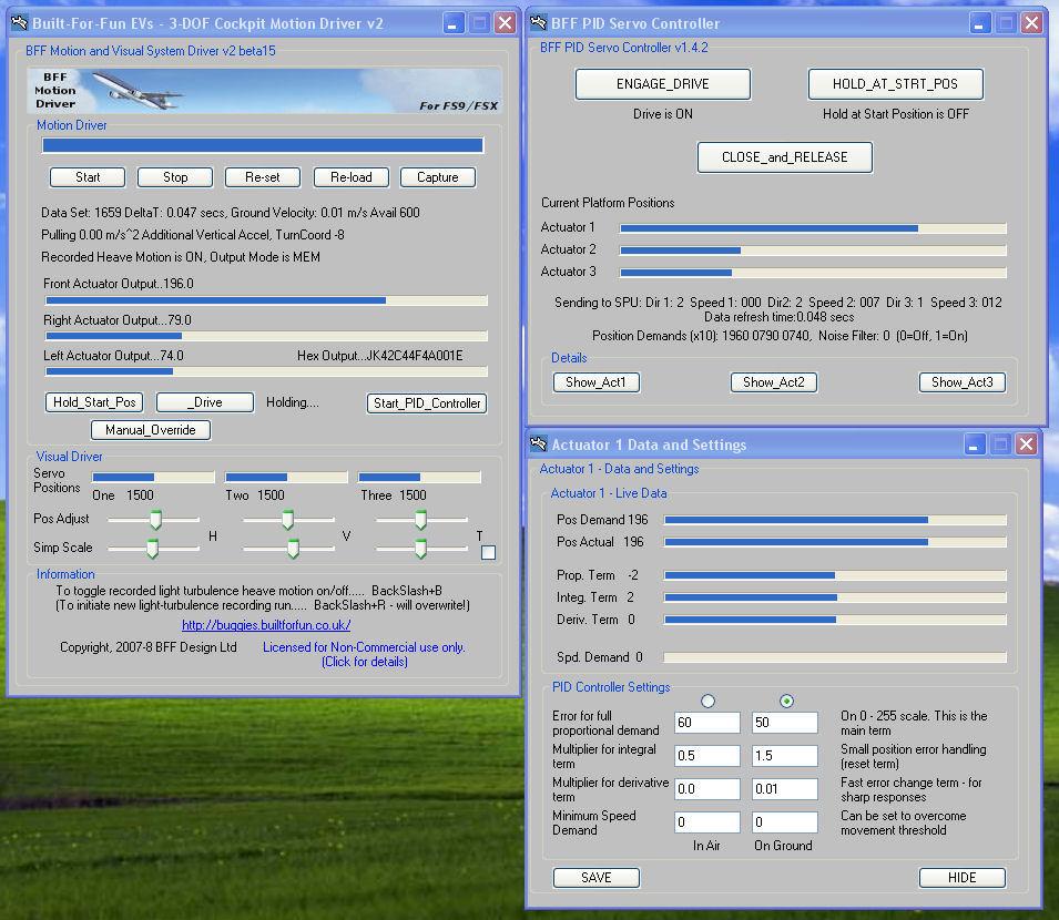 home built diy 3 dof flight simulator movement cockpit updated rh bffsimulation com