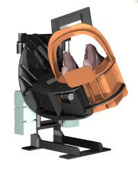 Home Built DIY 3 DOF Flight Simulator Movement Cockpit