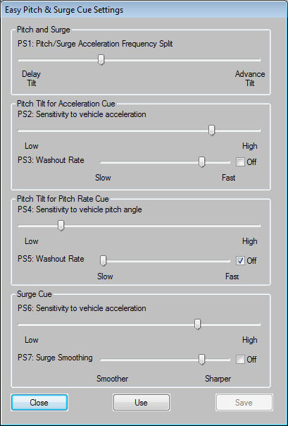 BFF Motion Driver Short User Guide