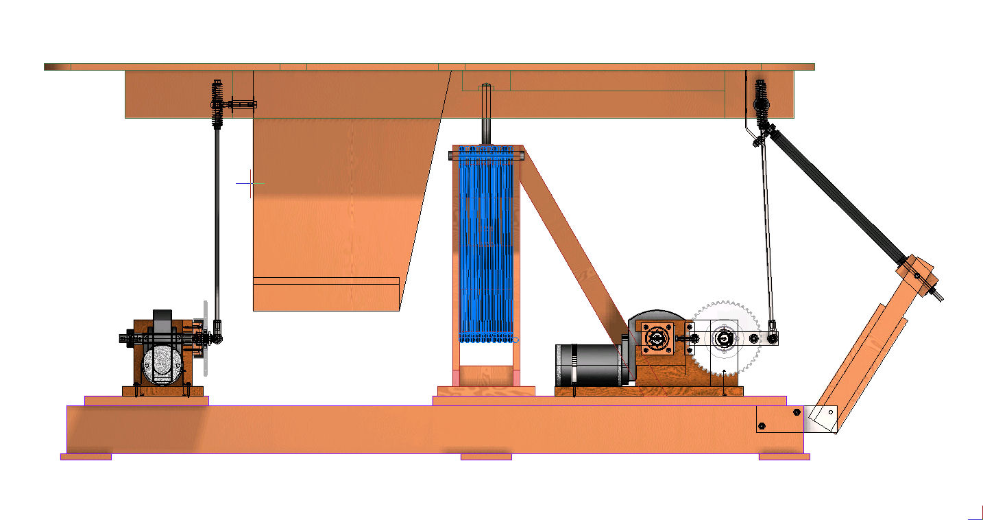 Home Built Diy 3 Dof Flight Simulator Motion Platform