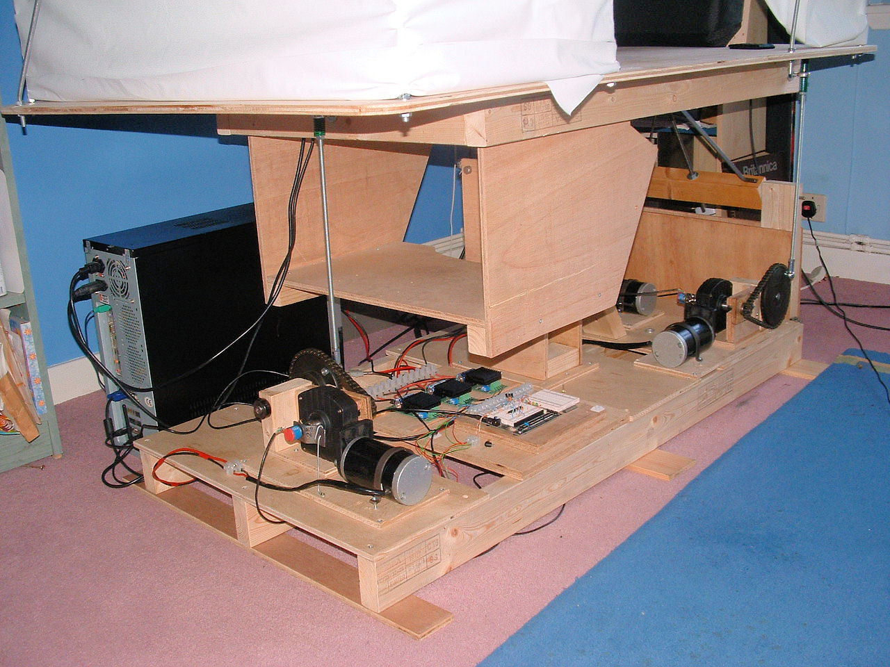 Diy motion simulator plans diy projects ideas for House plan simulator